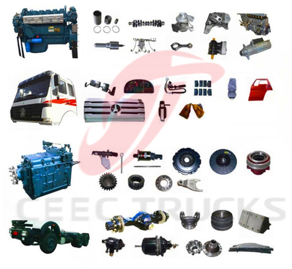 Beiben spare parts in factor stock for quick delivery