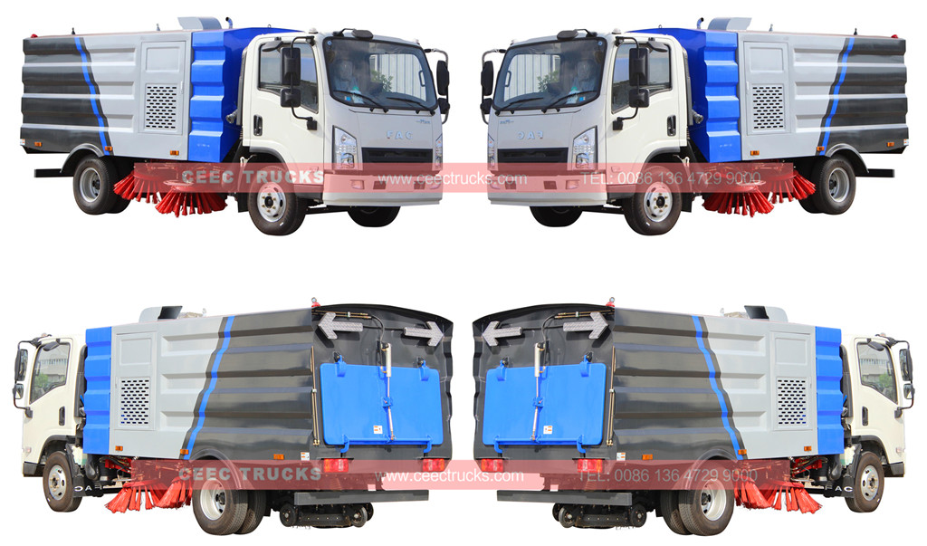 الفاو road sweeper truck 5cbm for sale