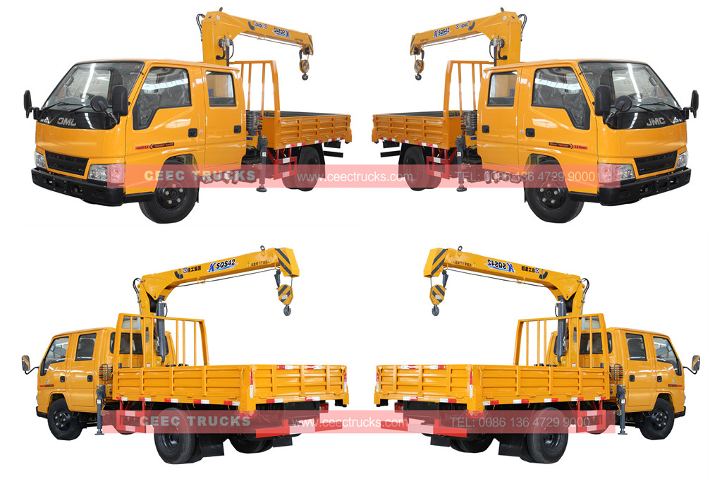 Wholeview for JMC 2T telescopic boom crane