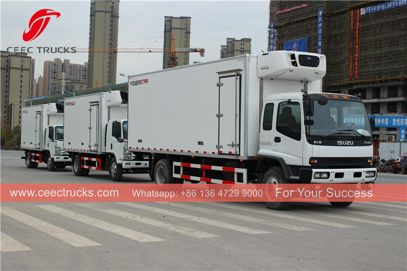 ISUZU refrigerated truck