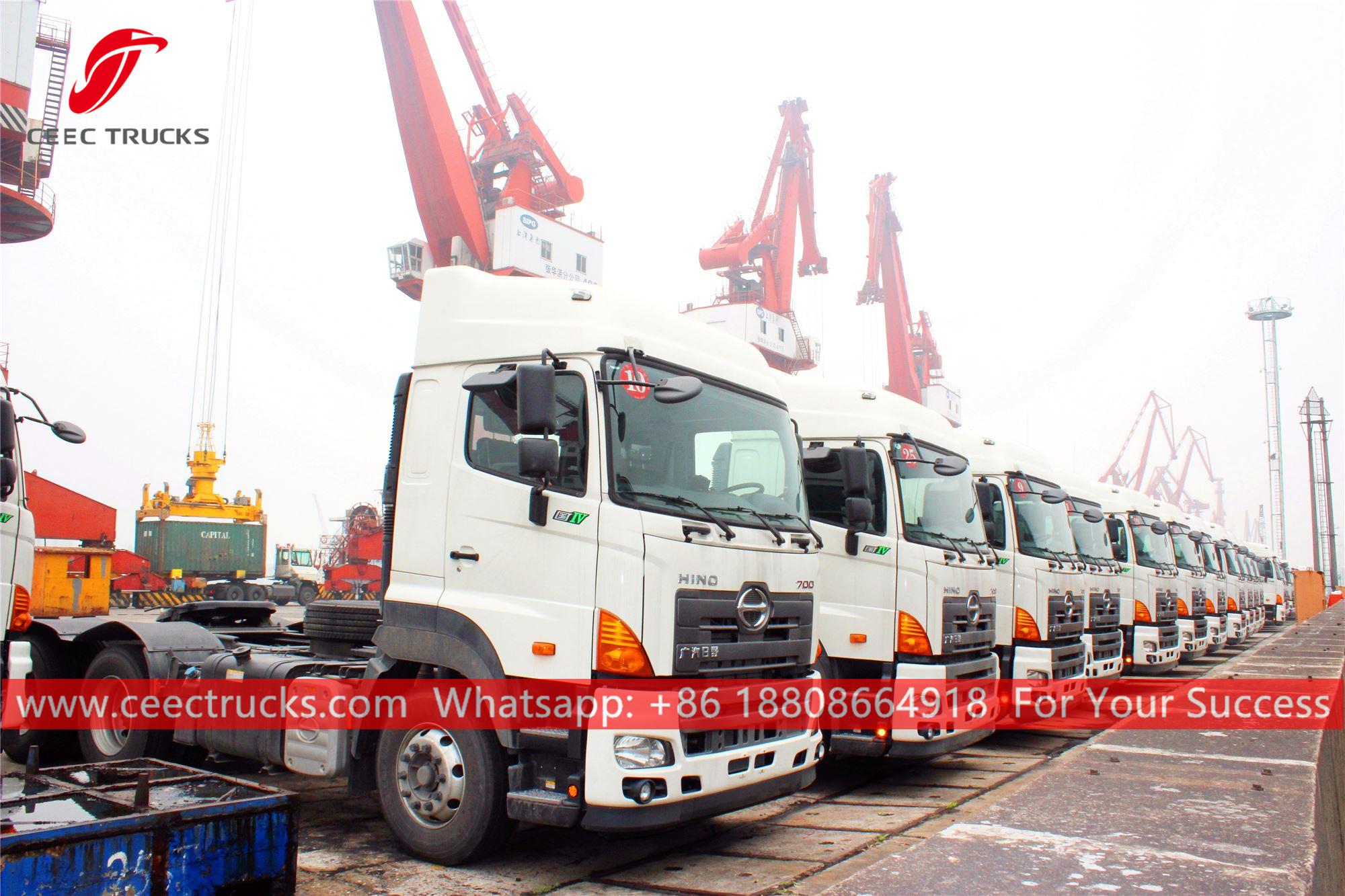60 units Prime mover trucks for Myanmar