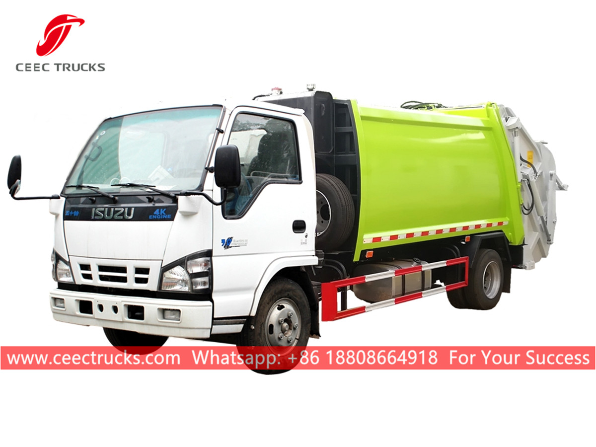 ISUZU 4*2 Rubbish compactor vehicle