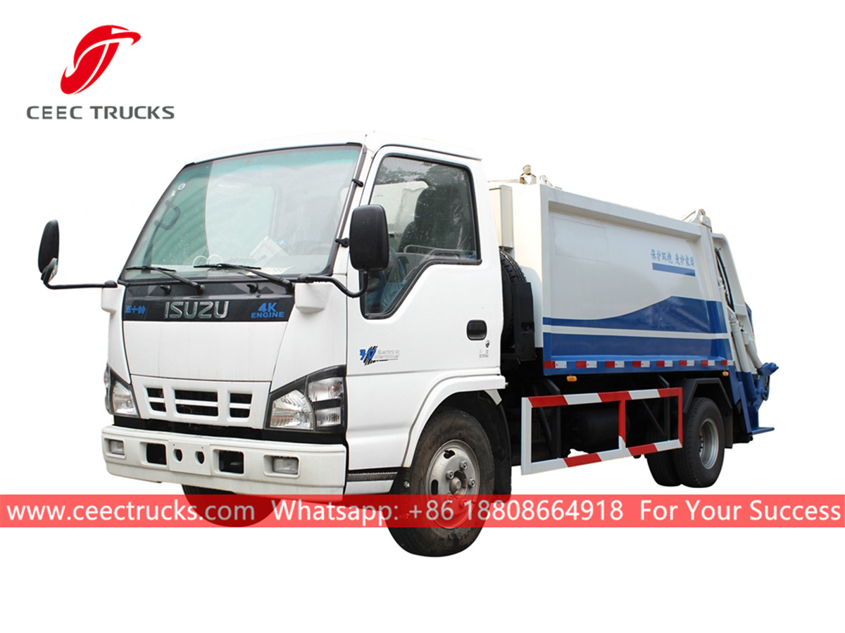 ISUZU 5,000 Liters rear loader