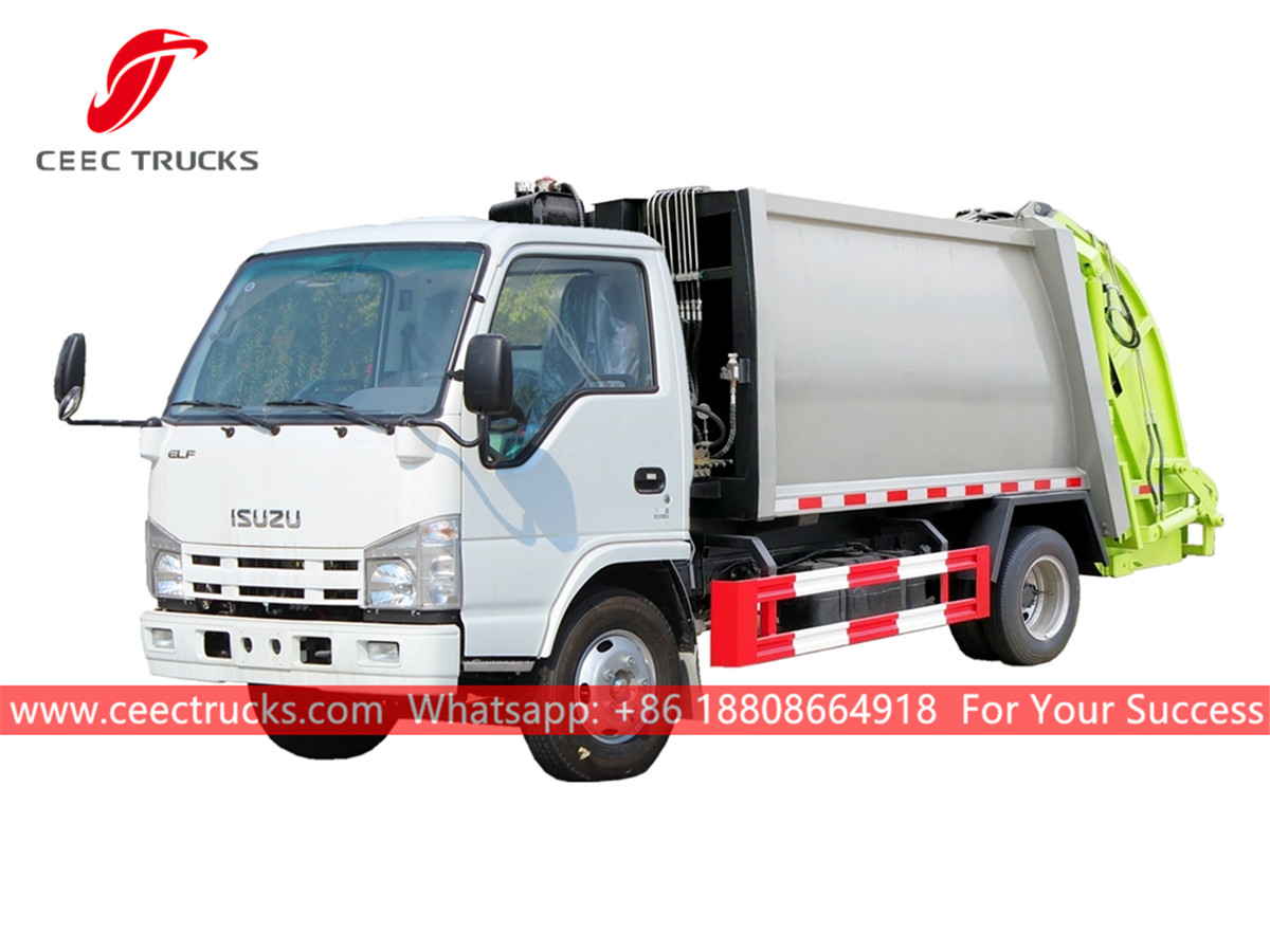 Good quality ISUZU Waste management truck