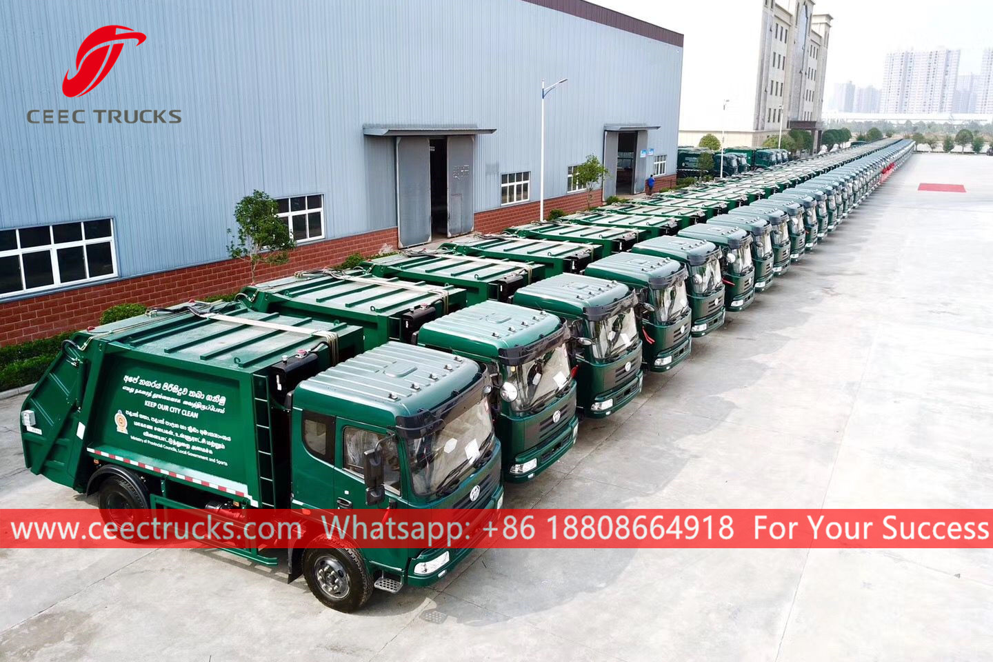 50 units rear loaders were exported