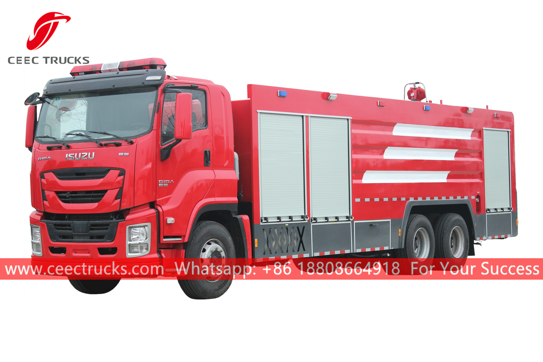 ISUZU GIGA Water-foam fire truck for sale