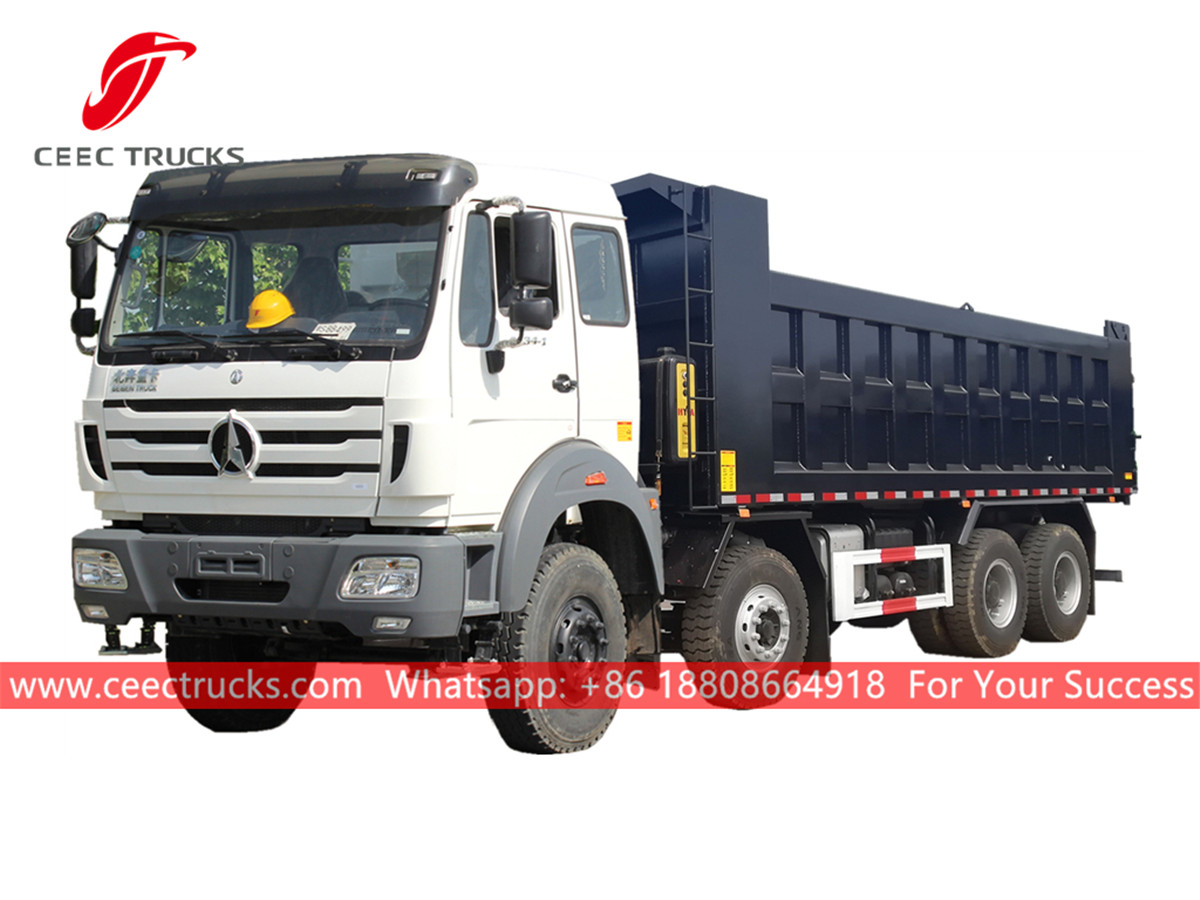 North benz dump truck