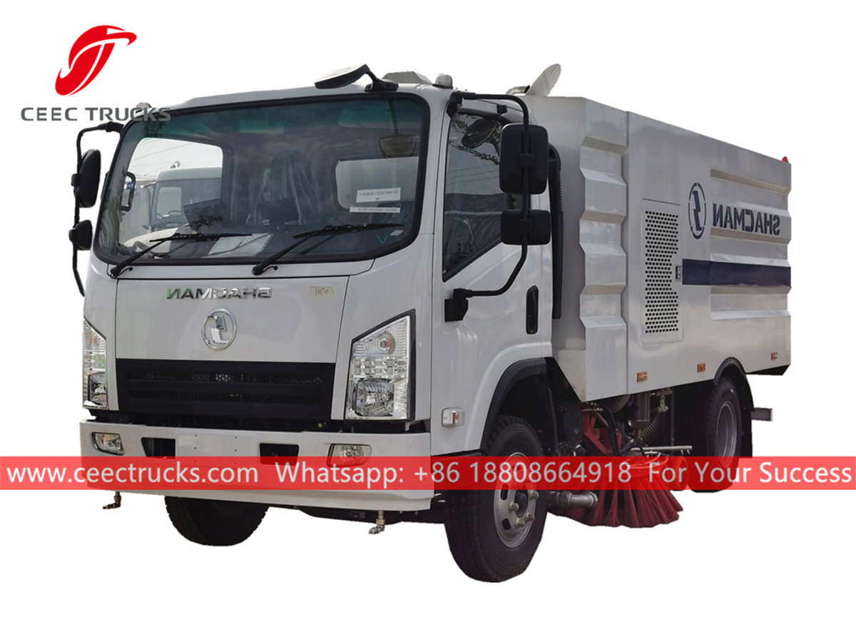 Shacman road cleaner truck for sale
