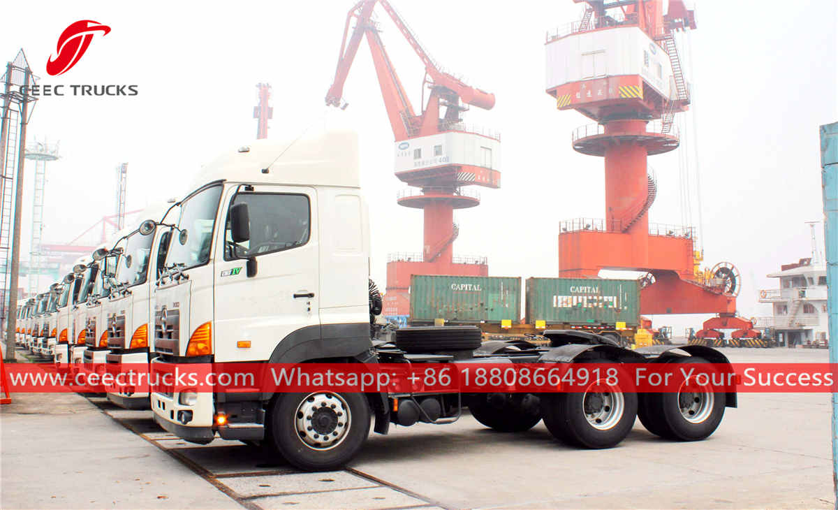 60 units tractor trucks for Myanmar