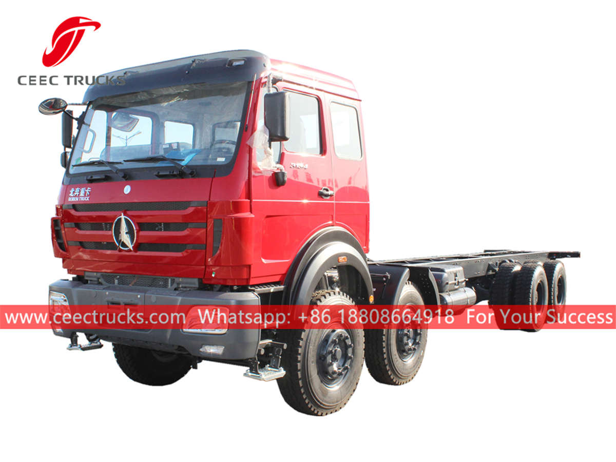 Beiben 8x4 trucks for Africa