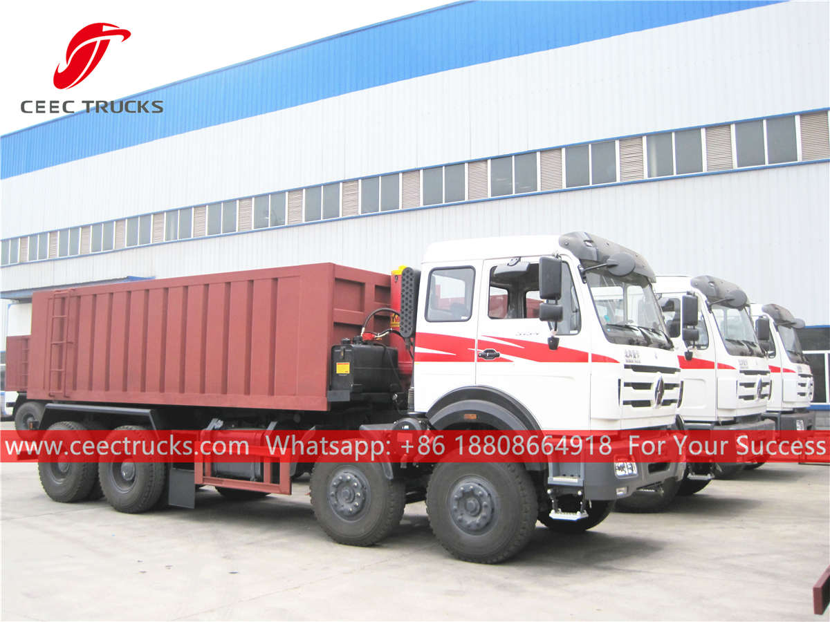 Beiben 3134 dump trucks for Africa