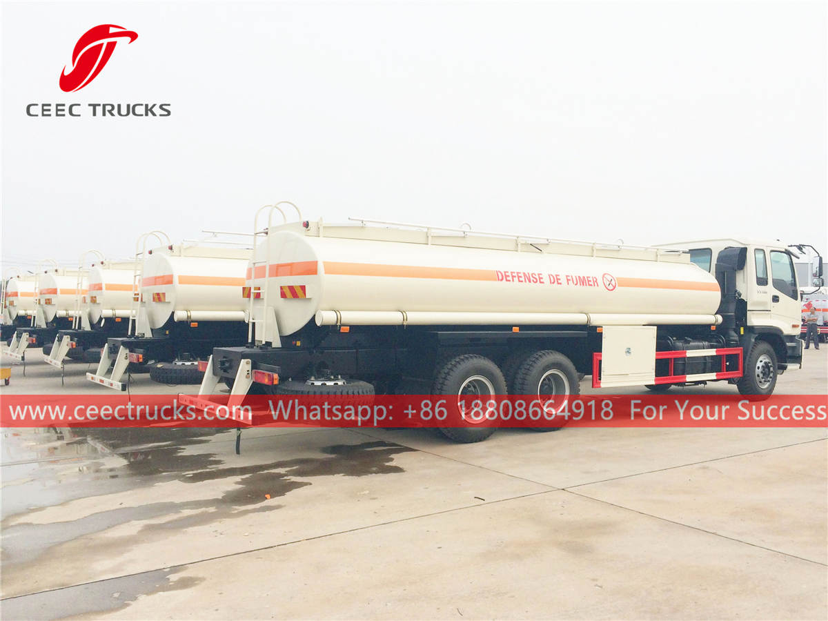 Fuel tanker trucks manufacturer in China
