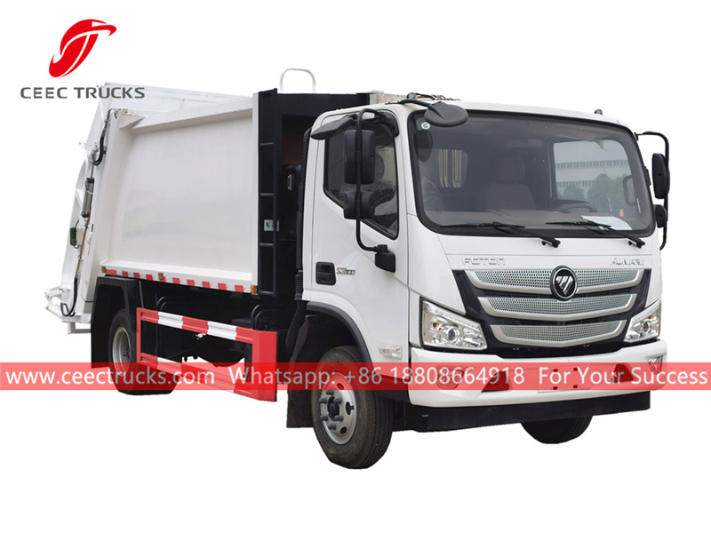 FOTON Euro 3 waste compactor truck