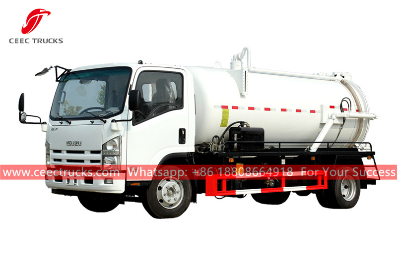 Japan ISUZU sewage treatment truck