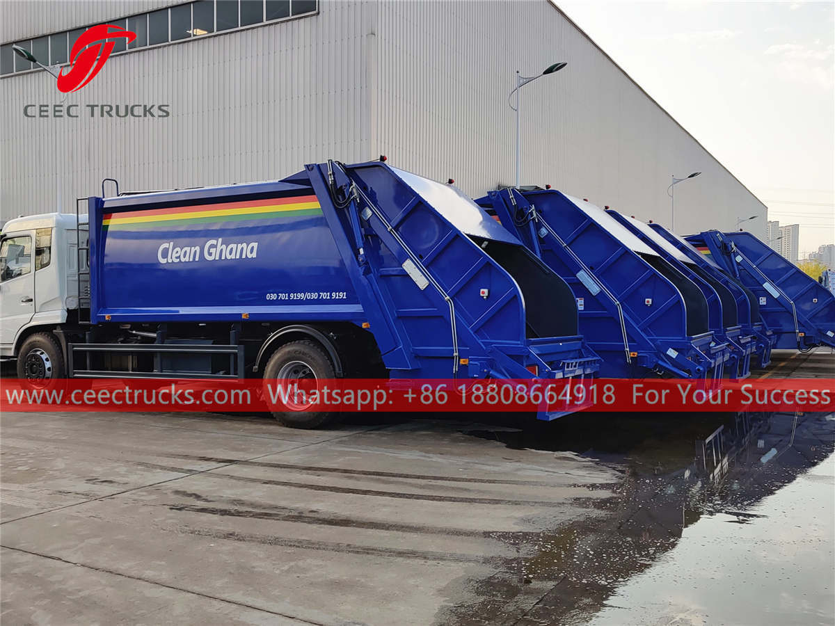 Factory price Garbage compactor for sale