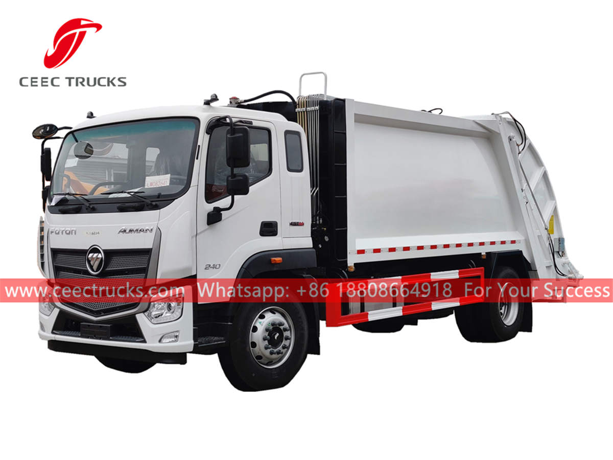 FOTON rear load garbage truck