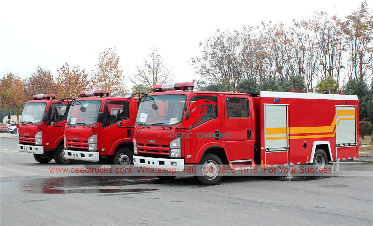Factory direct sale ISUZU fire engine