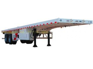 best 2 axle container semitrailer