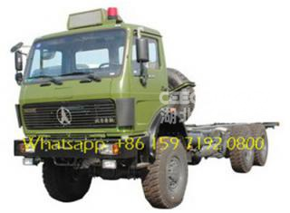beiben truck 2634k low bed trailer جر شاحنة