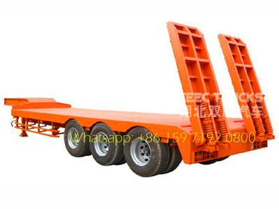 3 Axles Heavy Lowbed trailer