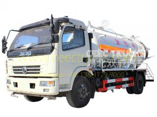 dongfeng 6،000l vacuum tanker