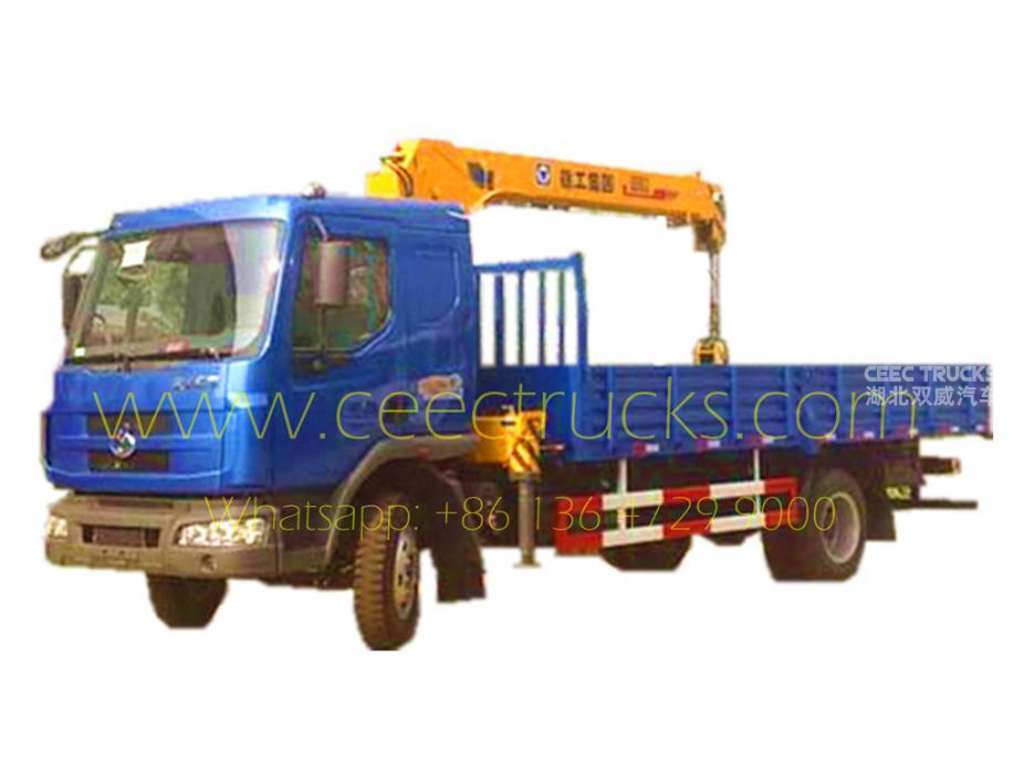DONGFENG 6.3T boom crane trucks for sale