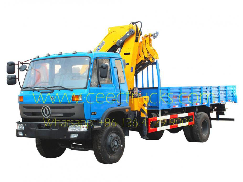 DONGFENG 10 Tons knuckle crane trucks