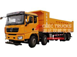 شاحنة قلابة shacman 8x4-CEEC TRUCKS