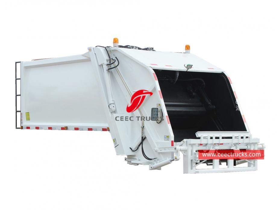 european standard 10,000 liters compressed trash truck kit