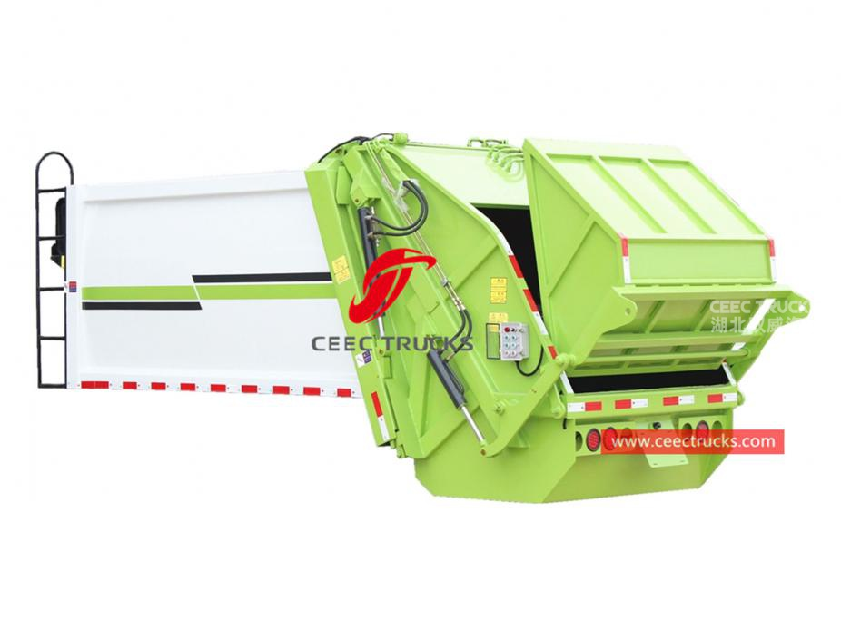 european standard 5,000 liters waste compactor truck kit