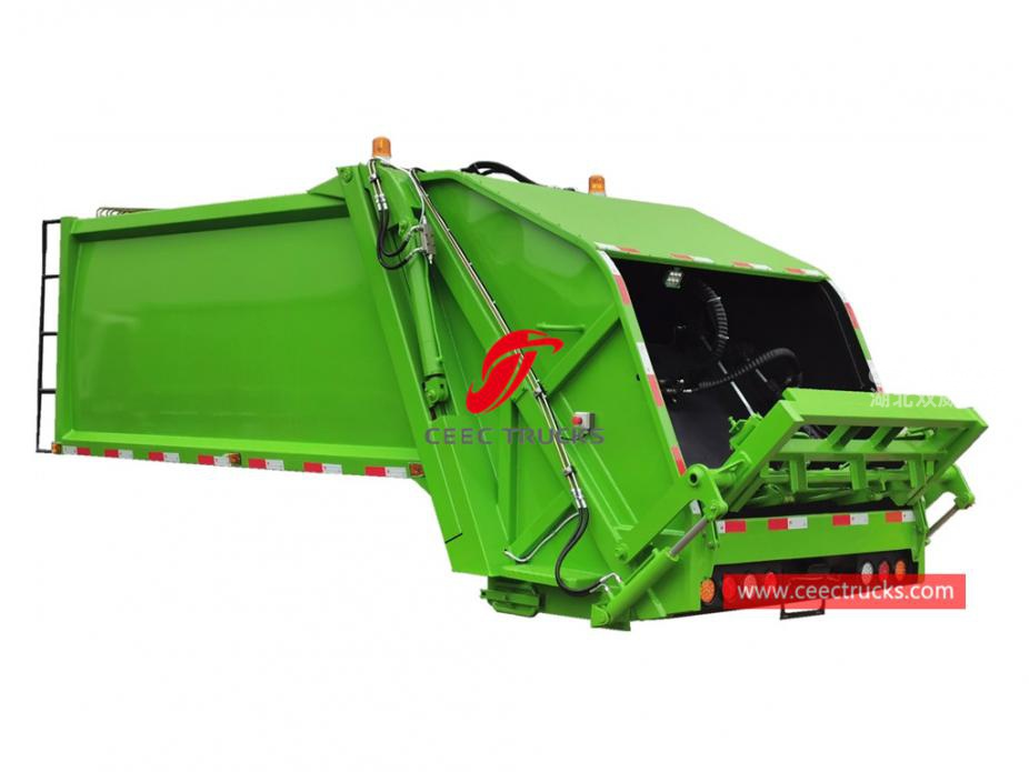 european standard 10,000 liters compressed garbage truck tanker kit
