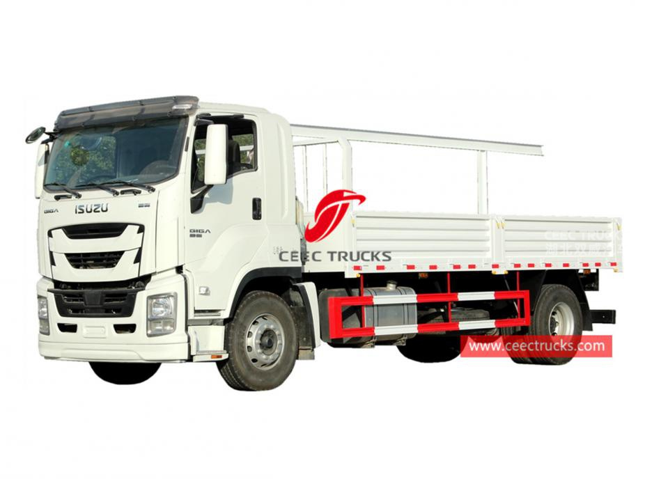 ISUZU GIGA Van truck for Philippines