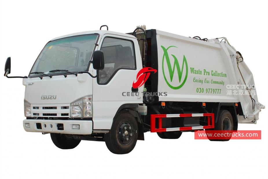 Brand new ISUZU 5CBM Garbage compressor truck for exporting