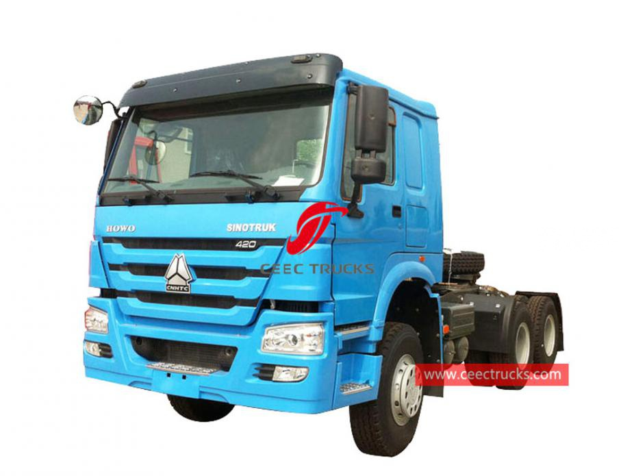HOWO 420HP prime mover