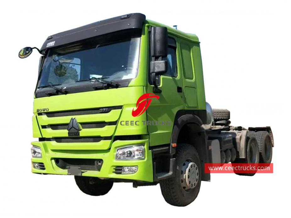 HOWO 6x4 tractor unit for Africa