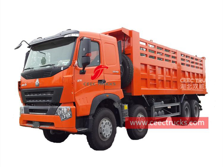 HOWO  A7 8×4 tipper lorry
